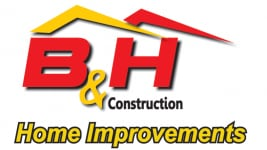 B & H Contruction Logo